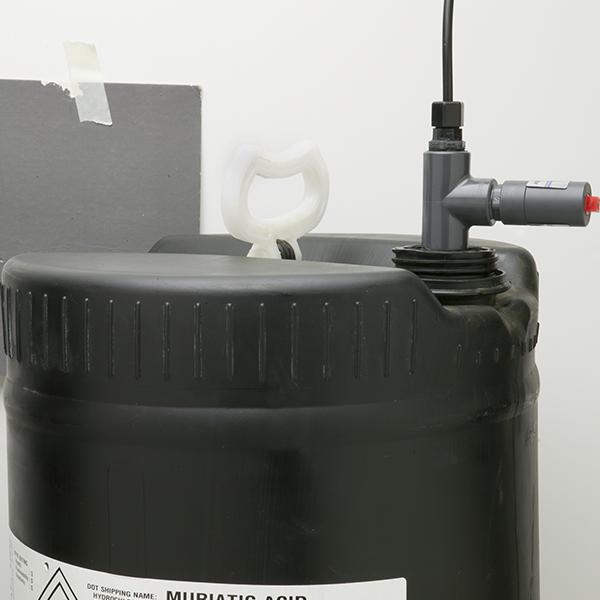Chemical Feed Pump Schedule 80 Pvc Vapor Shield