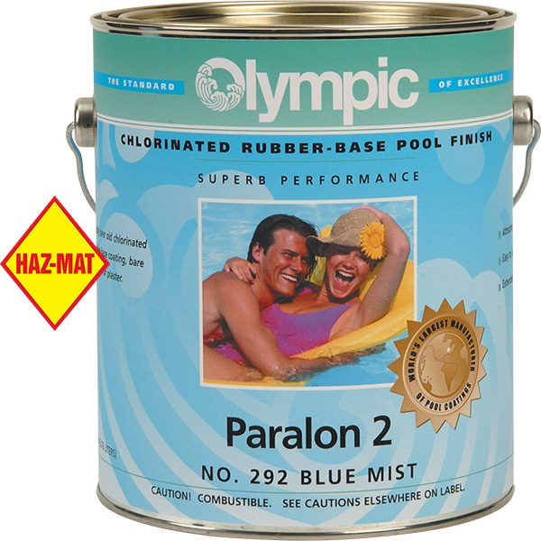Olympic Paralon 2 swimming pool paint is a premium grade chlorinated rubber based pool enamel.