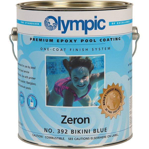 Olympic's Zeron Epoxy Swimming Pool Paint