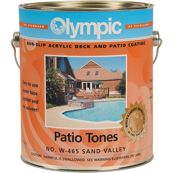 Patio Tones Swimming Pool Deck and Patio Paint