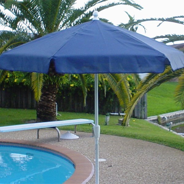 texacraft 7 foot 6 inch diameter outdoor pool patio umbrella. Black Bedroom Furniture Sets. Home Design Ideas
