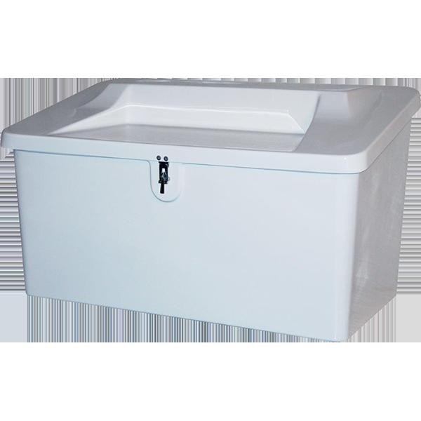 Seat Top Fiberglass Storage Box - Model 500ST