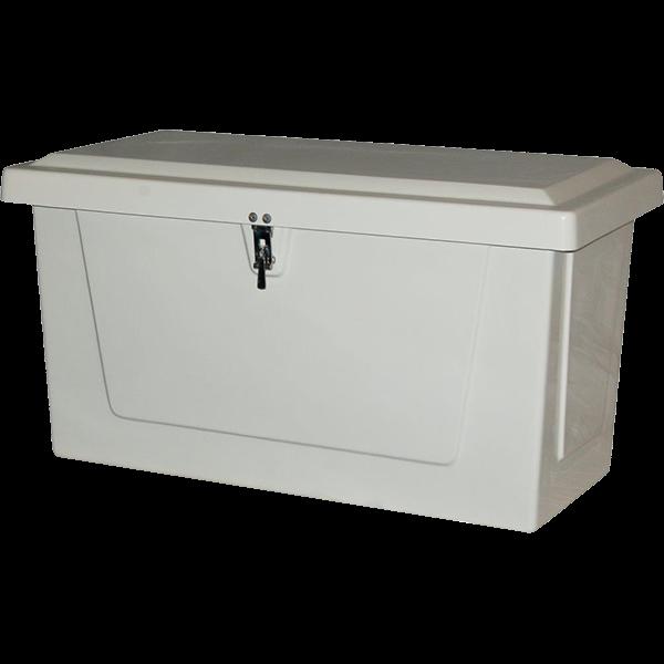 Model 323 Maxi Fiberglass Pool Equipment Deck Storage Box