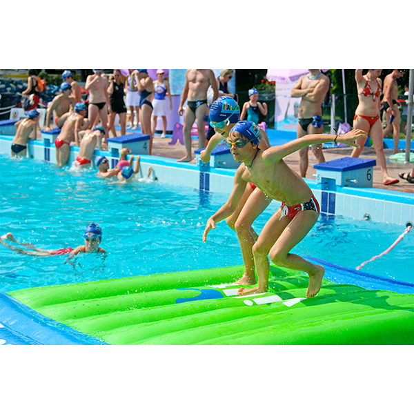 Wibit Base Modular Play Product - Commercial Swimming Pool Inflatable