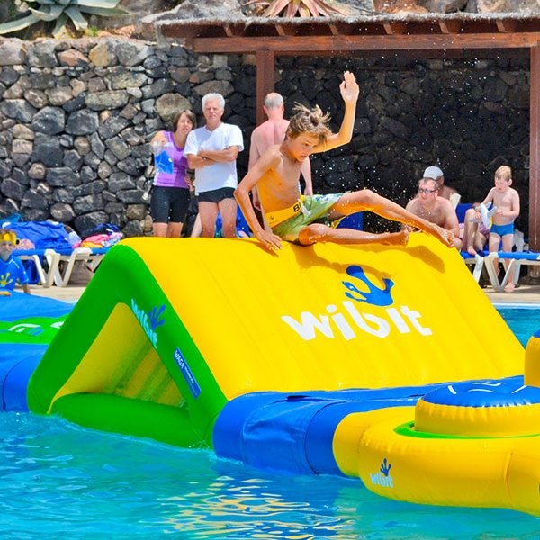Wibit Slide Modular Play Product - Commercial Swimming Pool Inflatable