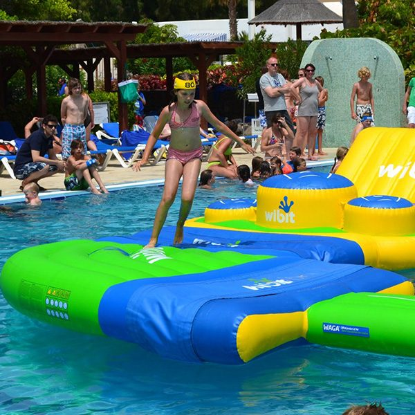 Wibit Side Kick Modular Play Product - Commercial Swimming Pool Inflatable