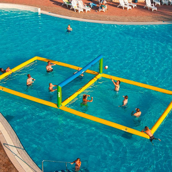 Wibit Volley Stand Alone Play Product - Commerical Swimming Pool Inflatable