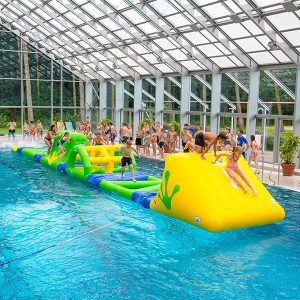 Wibit AquaTrack Standard Combination Play Product - Swimming Pool Inflatable