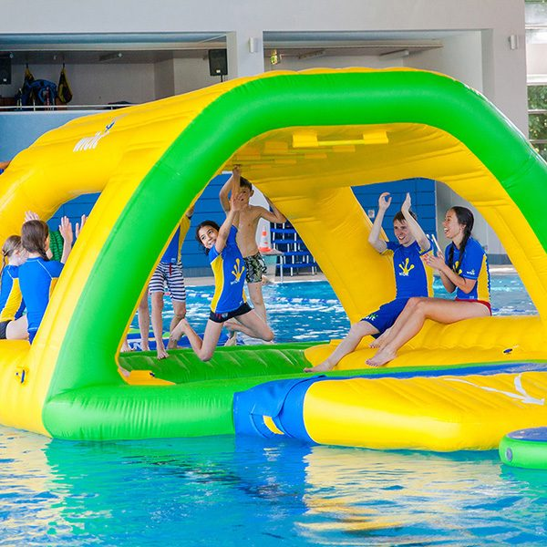 Wibit Monkey Bars Modular Play Product - Commercial Swimming Pool Inflatable