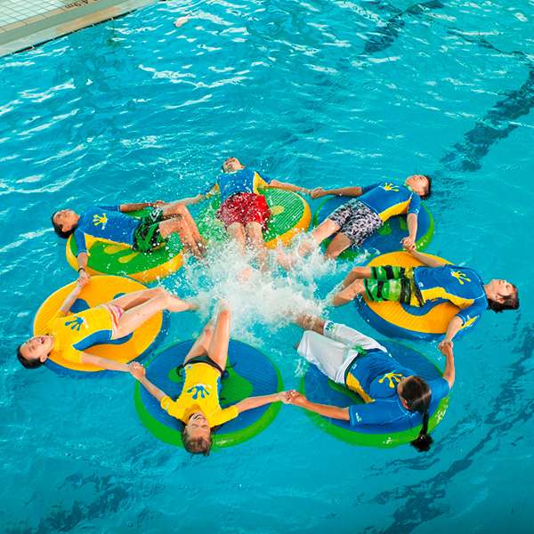 Wibit Wiggle Discs 3 Discs Flattop Modular Play Product Pool Inflatable