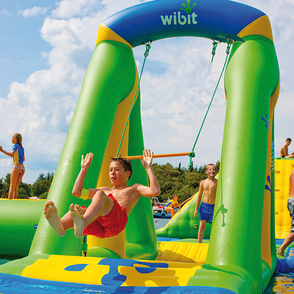 Wibit Swing Modular Play Product Commercial Swimming