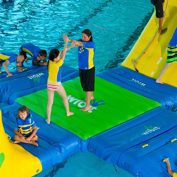 Wibit junction modular play product commercial swimming - California swimming pool building codes ...