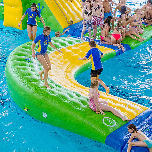 Wibit Curve Modular Play Product Commercial Swimming Pool Inflatable