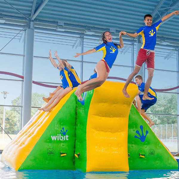 Wibit action tower xl modular play product commercial pool - California swimming pool building codes ...