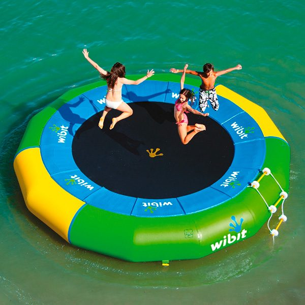 Wibit Bouncer XXL Stand Alone Play Product - Commerical Swimming Pool Inflatable