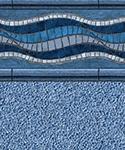 Santa Barbara style inground swimming pool kit virgin vinyl liner.