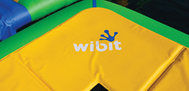 The safety pad prevent users from colliding into any metal parts and should be at least twice the length of the spring. Wibit exceeds that minimum requirement with a safety pad width of 27.5