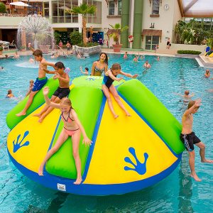 Wibit Rodeo Splash Stand Alone Play Inflatable - Commerical Swimming Pool Inflatable