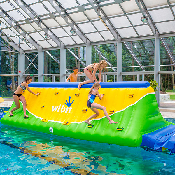 Wibit Quarter Pipe Modular Play Inflatable Swimming Pool Inflatable