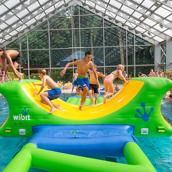 Wibit Half Pipe Modular Play Inflatable Swimming Pool Inflatable