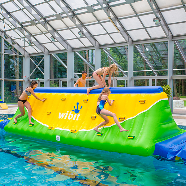 Wibit Quarter Pipe Modular Play Inflatable Pool Equipment
