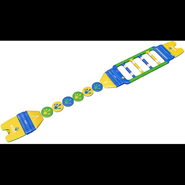 Wibit FastTrack 6 Standard Inflatable Pool Combination 3-D Rendering