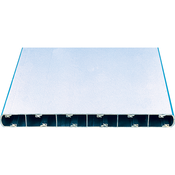 Aluminum recreational diving boards are intended for use on commercial pools and provide great action and exceptionally durability.