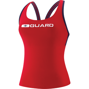Speedo Womens Tankini Lifeguard Swim Suit Top