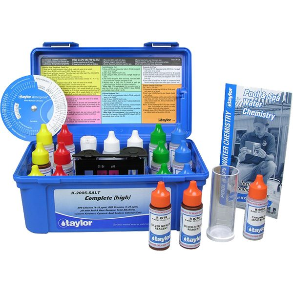 Taylor Complete 2005 Swimming Pool Water Test Kit K-2005 Plus Salt