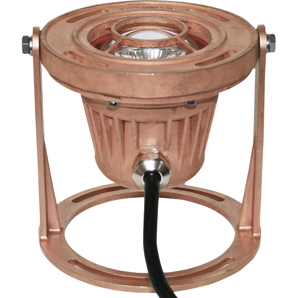 Bronze LED High-Lumen Wet-Dry Fountain Light
