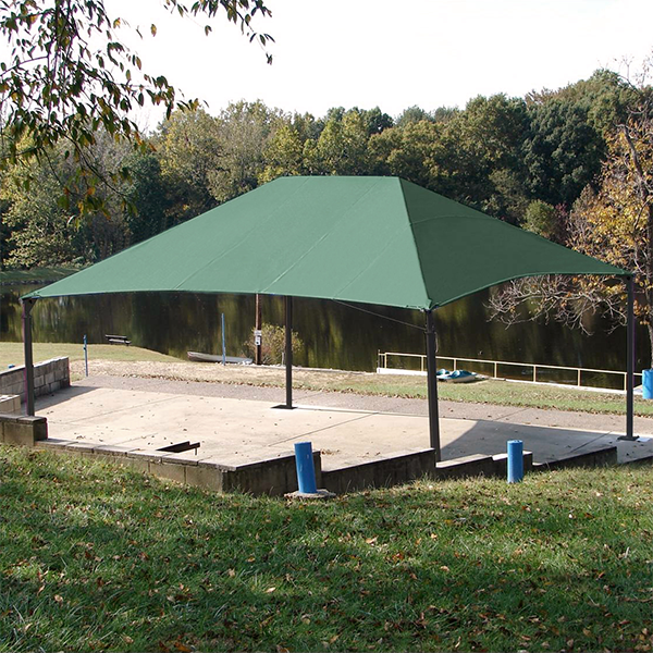 Perfectshade Post-and-Fabric Shade Structures