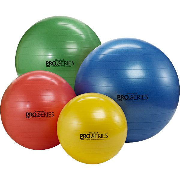 Thera-Band Pro Series SCP Exercise Balls with Exercise Guide Poster
