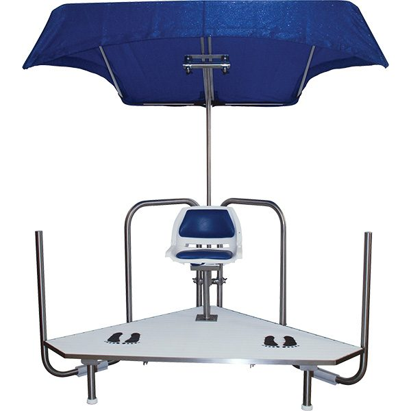Sunshade for Griff's Vision Guard Station Lifeguard Chair