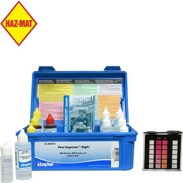 Taylor Technologies Dpd High Range Pool Inspector Test Kit