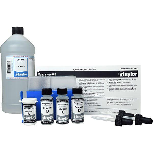 Taylor TTi 2000 Colorimeter Manganese Reagent Pack K-8034