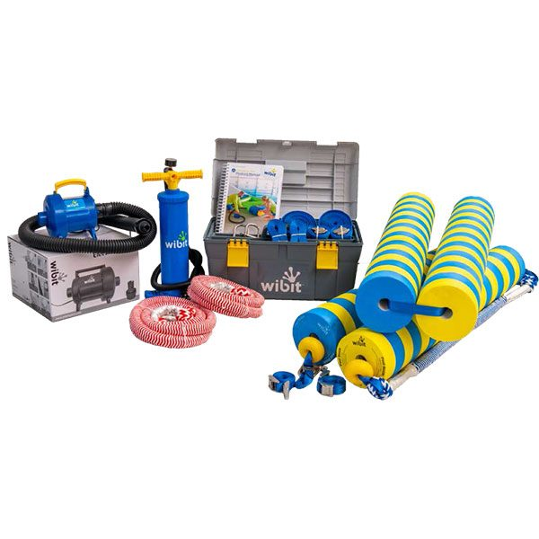 Wibit Sports kids accessory kit with tool box.