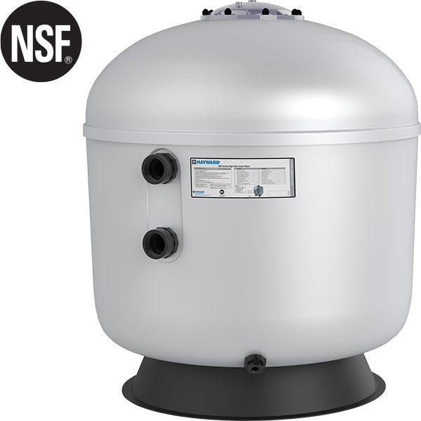 "Hayward 30"" HCF series commercial swimming pool sand filter."
