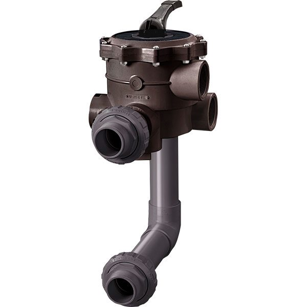 Hayward HCF series semi-commercial swimming pool sand filter multi-port valve kits.
