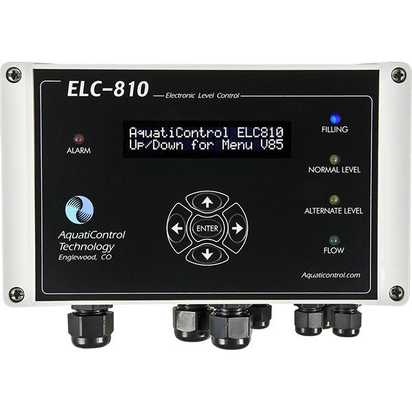 ELC-810 Wet Well Dual Sensing Swimming Pool Water Level Controller