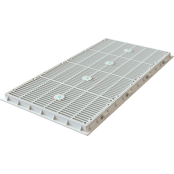 "AquaStar's 18"" x 36"" MAHC-1 unblockable anti-entrapment swimming pool drain cover complies with all current standards."