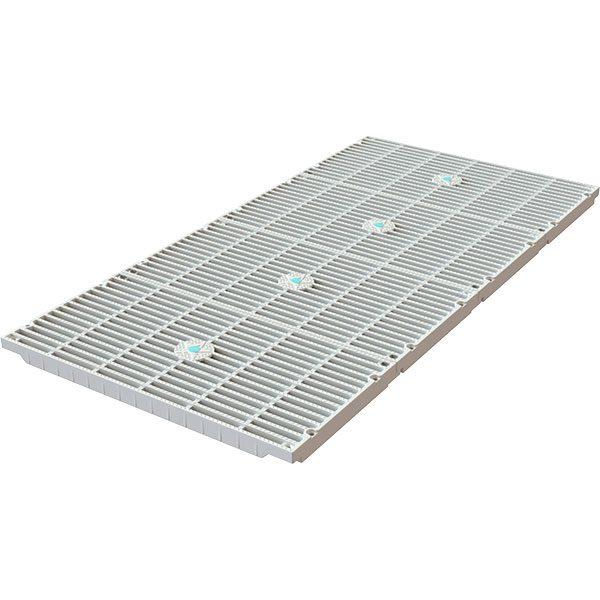 "18"" x 36"" AquaStar VGB unblockable swimming pool drain cover retro-fit kit."