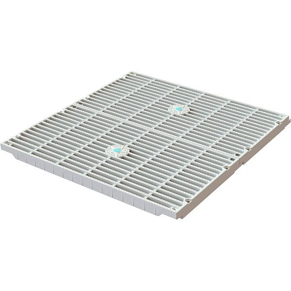 "18"" x 18"" AquaStar VGB unblockable swimming pool drain cover retro-fit kit."