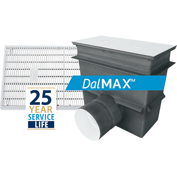 Daldorado DalMax unblockable large area main drains are for new pool construction or renovation. Certified to APSP-16-2017.