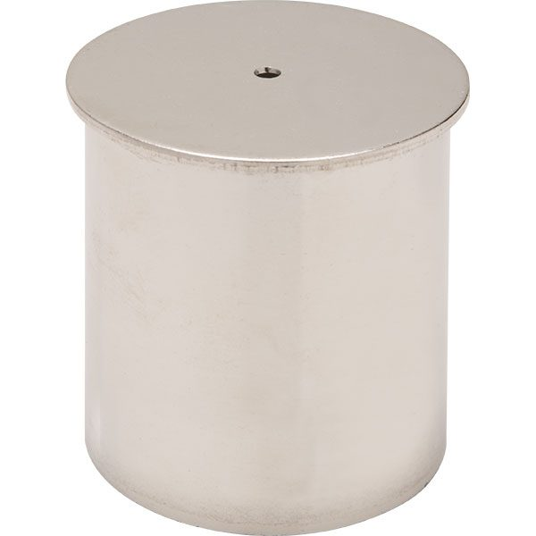 Replacement deluxe stainless steel stanchion socket slip cap.