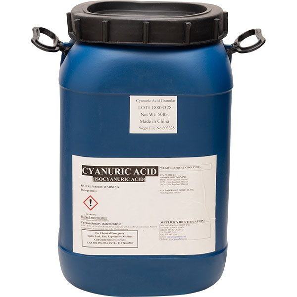 Swimming Pool Conditioner - Chlorine Stabilizer Cyanuric Acid