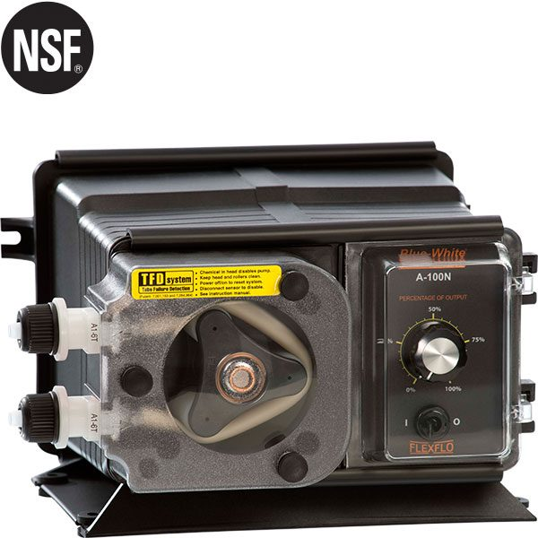 Flex-Flo Peristaltic Pool Chemical Metering Pumps