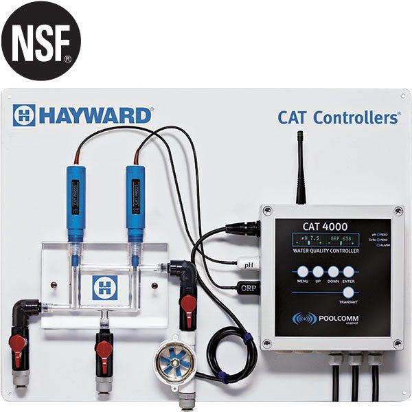 Hayward CAT 4000 swimming pool chemical controller professional package - Wi-Fi or cell.