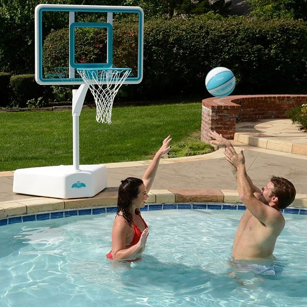 Splash and Shoot Portable Swimming Pool Basketball Game