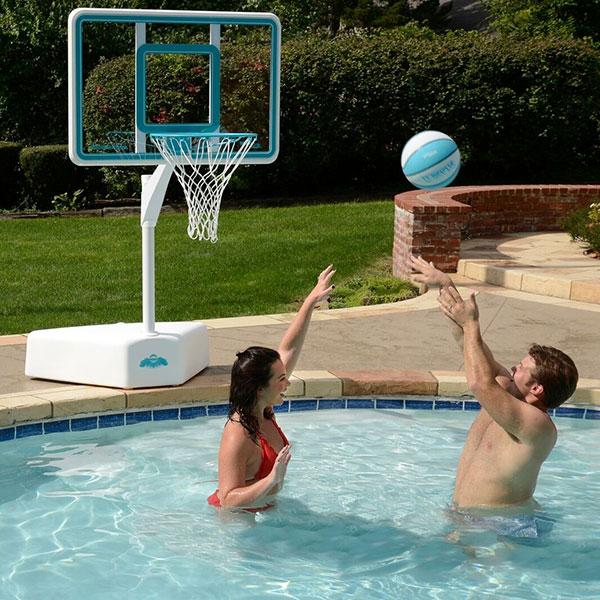 Splash and Shoot Portable Swimming Pool Basketball Game
