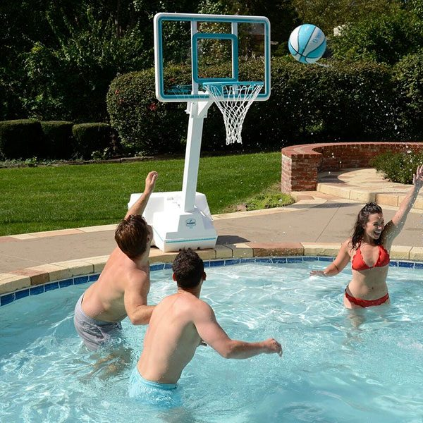 Splash and Slam Regulation Swimming Pool Basketball Game